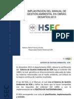 Manual de SGA en Obras -SK 2013