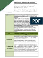Guia de Contenidos Para El Desarrollo Metodologico (Trabajo de Grado)