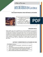 21 - La Muerte de Jesus en La Cruz
