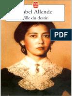 Isabelle Allende - Fille Du Destin