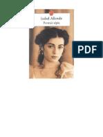 Isabel Allende - Portrait Sepia
