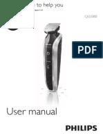 Afeitadora Philips Qg3380 16 Dfu Esp