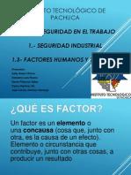 Factor Humanos y Técnicos