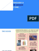 Posters Good and Bad