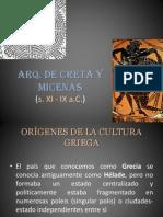 Arq Micenica y Cretense