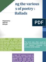 Ballads Ppt