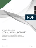 Lg Washer Wm2240cw - english and spanish