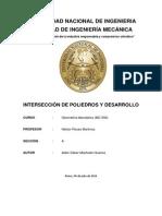 Monografía de Geometría Descriptiva-Intersección Poliedros-TecAdemach