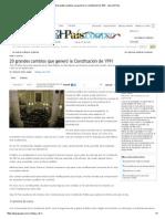 20 Grandes Cambios Que Generó La Constitución de 1991 - Diario El Pais
