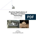 Practical Applications of Magnetic Levitation Technology