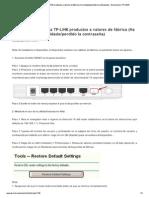Cómo restablecer la TP-L... - Bienvenido a TP-LINK.pdf