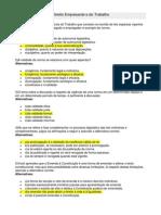 RESPOSTA- AV1 - Direito Empresarial e Do Trabalho