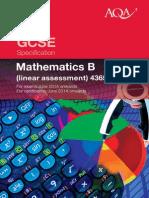 AQA-4365-Maths specification