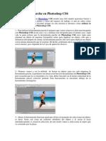 Herramienta Parche en Photoshop CS6