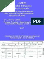 (14) Primeras Fases Del Desarrollo Del Embrion - 2004