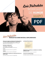 2014 Luis Piedrahita_dossier Workshop_buenos Aires