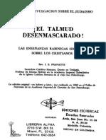 Pranaitis El Talmud Desenmascarado