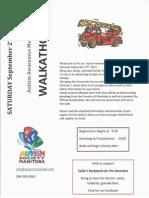 Autism Society MAnitoba Awareness Walkathon