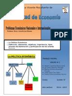 La Politica Economica Facultad de Economia