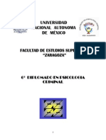 Diplomado de Psicologia Criminal - Fernando Mancilla