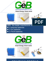 GEB Profile