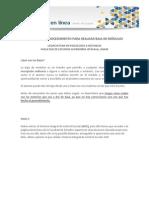 Tutorial Del Procedimiento Para Realizar Baja de Módulos 2015 1