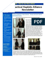 Tactical Hapkido Alliance Newsletter January 2009