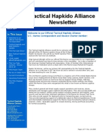 Tactical Hapkido Alliance Newsletter March 2009