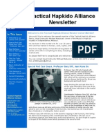 Tactical Hapkido Alliance Newsletter May 2009