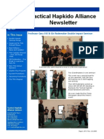 Tactical Hapkido Alliance Newsletter July 2009
