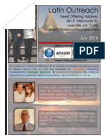 Latin Outreach July 2014 Newsletter