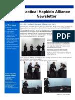 Tactical Hapkido Alliance Newsletter September 2009