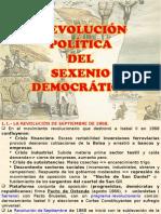 5.- SEXENIO DEMOCRÁTICO. ECONOMÍA