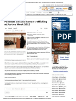 panelists discuss human trafficking at justice week 2012 - the independent florida alligator  online exclusives