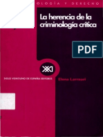 Elena Larrauri - La Herencia De La Criminologia Critica.pdf