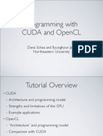 Programming with CUDA and OpenCL