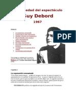 La Sociedad Del Espectáculo Guy Debord
