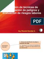 1.2.- Selección de Técnicas de Identificación de Peligros y Evaluación de Riegos