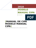 Implantacao Da Cipa MANUAL 2010