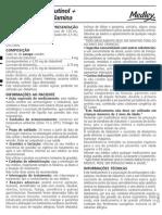 Cloridrato de Eclobutinol Succinato de Doxilamina Xarope