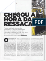 Revista Exame Brasil Situacao Economia -Julho-2014