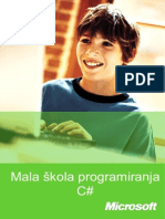 Mala Skola Programiranja C#