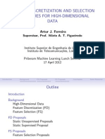 FD FS High Dimensional Data