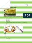 recipe for website