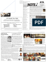 HYS Fall 2014 Newsletter - Pages 1-2, 5-6