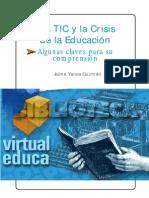 Guzman TIC y La Crisis de La Educación