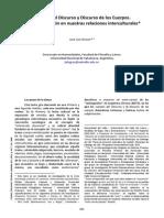 Luis Grosso - Cuerpos Del Discurso y Discurso de Los Cuerpos
