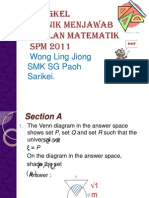Mathematics SPM 2011.Powerpoint