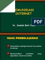Komunikasi Internet