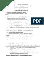 Examen Extraordinario Ciencias I 2012-2013